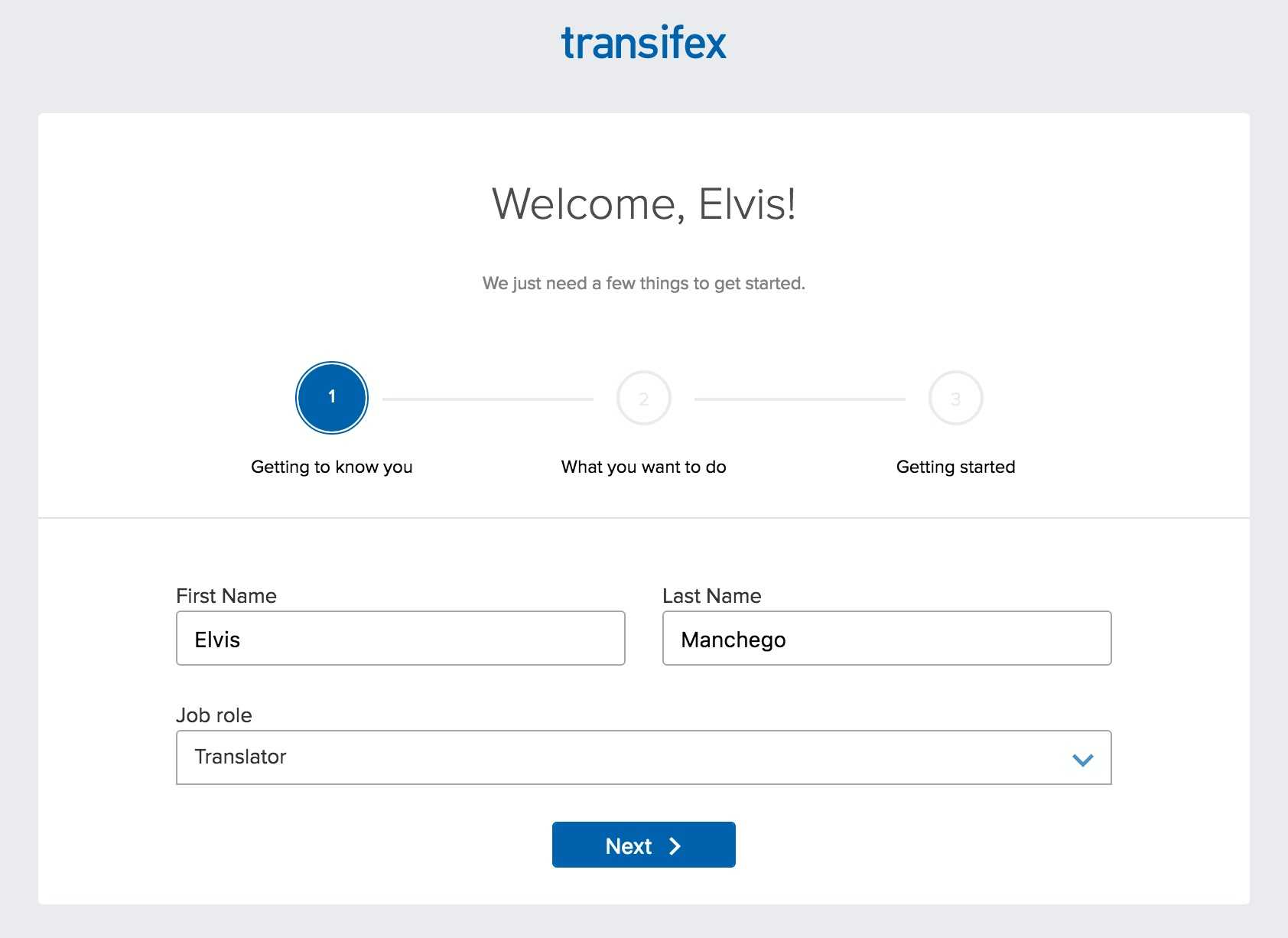Getting Started as a Translator | Transifex Documentation